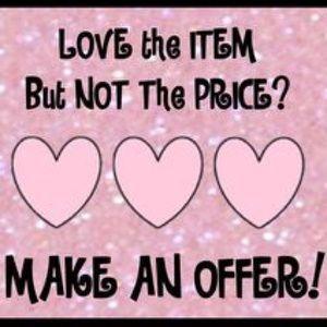 Accessories - Make an Offer!